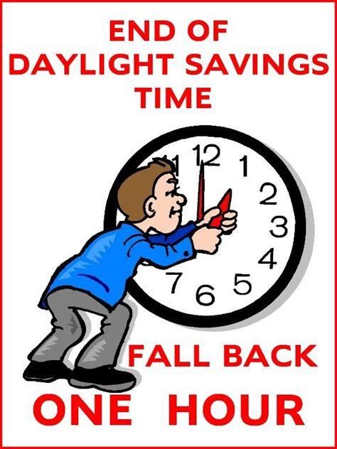 goodbye daylight savings time fall sunday morning