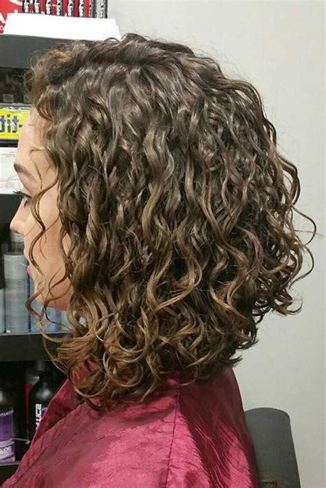 27 Pretty Shoulder Length Hair Styles Curly hair styles