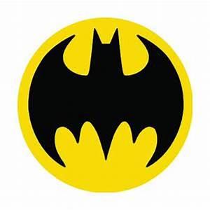 Batman Searchlight Logo Button