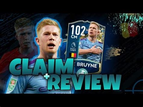 Fifa Mobile #25 Kevin De Bruyne TOTSSF Claim + Review ...