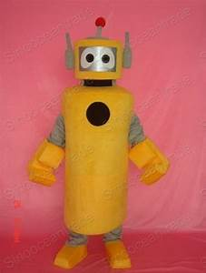 China Plex Yo Gabba Gabba Mascot Costume - China Plex ...