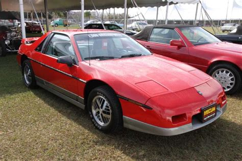 pontiac fiero indy pace car values hagerty