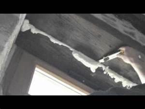 Mousse Polyuréthane Expansive Étanche À L Eau : utilisation d 39 une mousse polyur thane expansive youtube ~ Nature-et-papiers.com Idées de Décoration