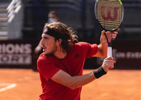 Video and review of the match cecchinato m. Streaking Tsitsipas Sets Up Lyon Semifinal vs. Musetti - Tennis Now