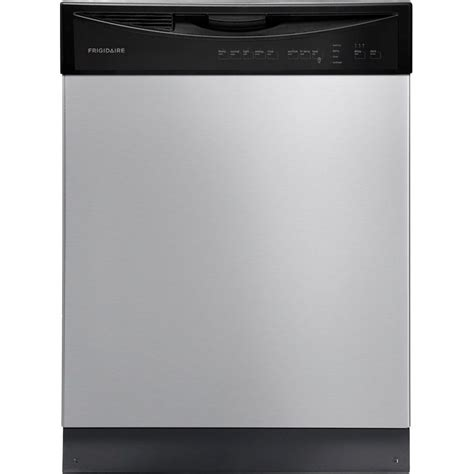 lowes dishwashers frigidaire 24 in 55 decibel built in dishwasher energy