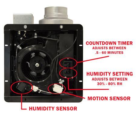 panasonic bathroom fan with humidity sensor buy panasonic whispersense bathroom fan with motion
