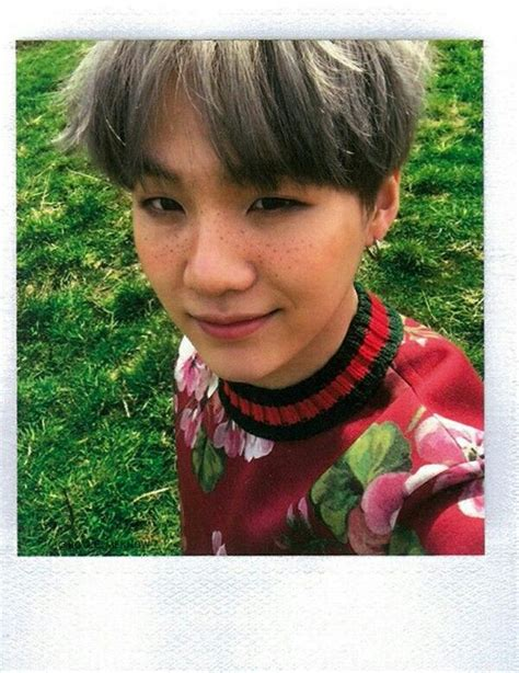Jimin Freckles Suga With Freckles I Might Just Die Korea At It S