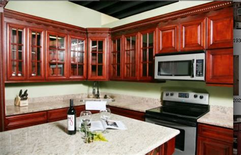 d8 cuisine armoires de cuisine en bois de cerisier d8