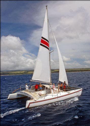 Catamaran Journey Hawaii by North Shore Catamaran Morning Snorkel Picnic 4 Hours