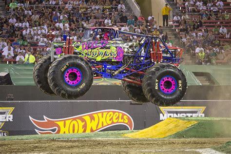 monster jam truck wild flower driver ramer rosalee trucks georgia tech drives monsterjam student wiki female springs caps looks mdjonline