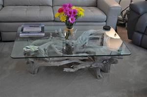Table Basse En Bois Flotté : table basse bois flott l 39 accrocheur nature dans le salon ~ Teatrodelosmanantiales.com Idées de Décoration