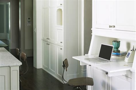 desk with cabinets built in built in desk transitional kitchen brian watford