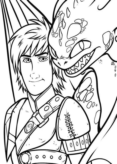 disegni  dragon trainer    da colorare disegni