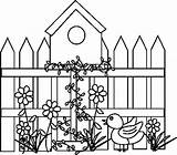 Birdhouse Bird Coloring Houses Pages Colouring Drawing Google Making sketch template
