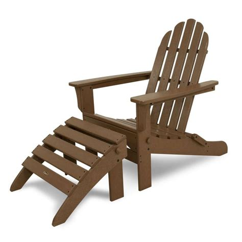 trex outdoor furniture cape cod 2 folding adirondack