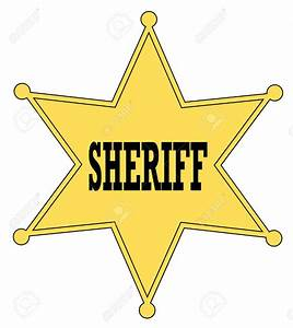 Sheriff Badge Clipart