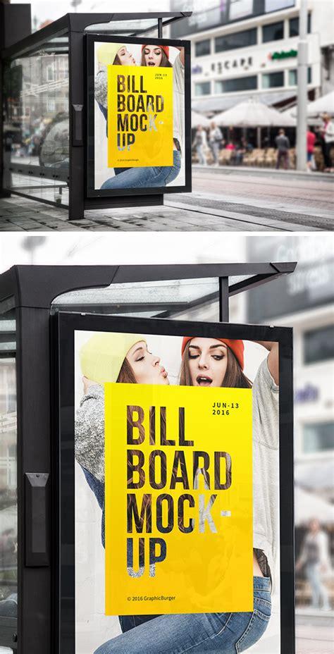 New Billboard Magazine Logo bus stop billboard mockup graphicburger 600 x 1175 · jpeg