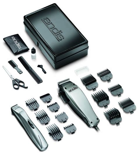 barber set hair cut kit shaver clipper trimmer combo haircut andis