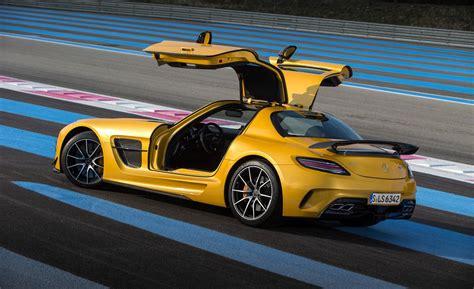Mercedes Sls Amg Black Series With Paul Ricard Muscle