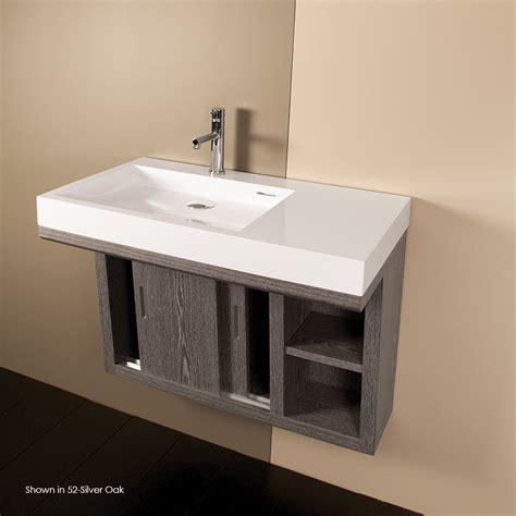 wall mounted bathroom sinks lacava 5101a libera vanity in bathroom vanities ada