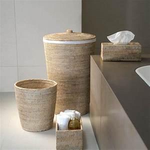 Panier A Linge Design : basket wb panier corbeille linge en rotin decor walther ~ Teatrodelosmanantiales.com Idées de Décoration