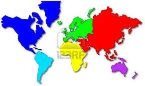 Carte Du Monde Facile by Unidad 2 Los Continentes Socialessandiego