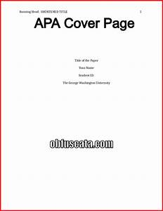 how to make a cover page for a research paper 28 images With how to make a cover sheet