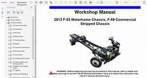 2013 Ford F53 Repair Manual