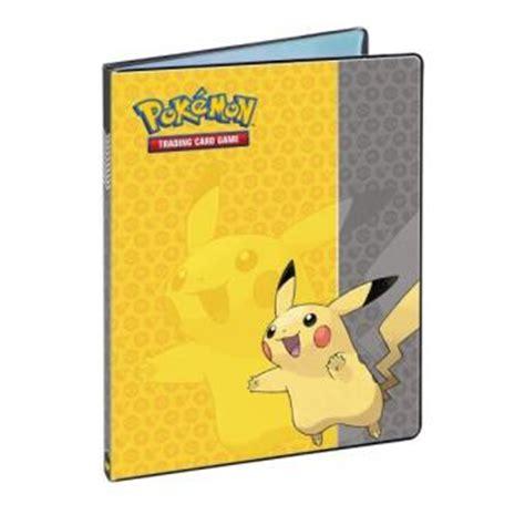 cahier range cartes pikachu pok 233 mon 180 cartes jeu de cartes achat prix fnac