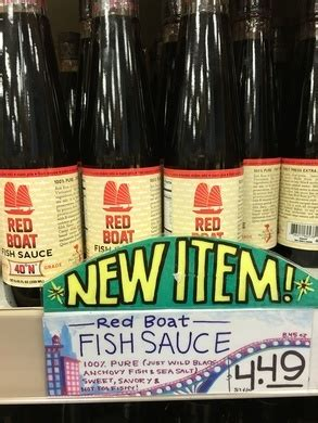 Red Boat Fish Sauce In Canada by Trader Joes Red Boat Fish Sauce Markets Fish Sauce