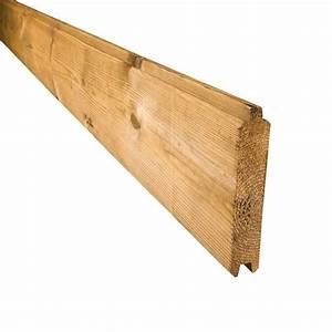 Pouf En Bois : planche standard parana en sapin trait autoclave palissade bois deck linea ~ Teatrodelosmanantiales.com Idées de Décoration