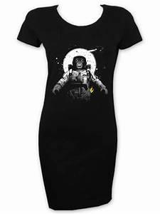 Astronaut Monkey Chimpanzee Short Sleeve T-Shirt Dress ...