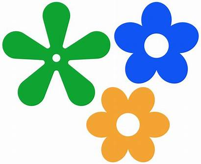 Flower Simple Vector Clipart Clip Library Icon