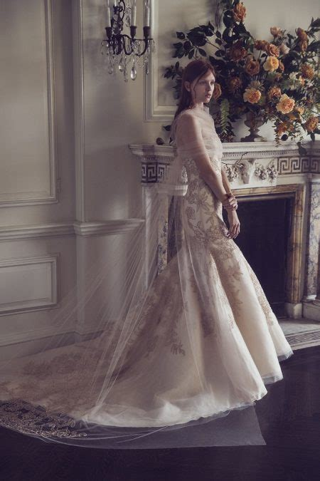 monique lhuillier bridal fall  wedding dresses