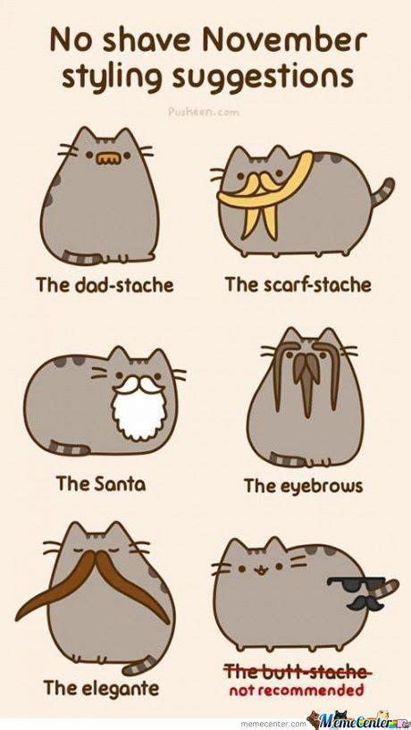 Pusheen Memes - november pusheen the cat by remilia meme center