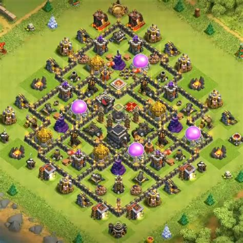20+ Best Town Hall 9 Base Design for 2019