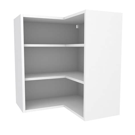 corner shelves for kitchen cabinets cooke lewis white corner wall cabinet w 625mm 8364