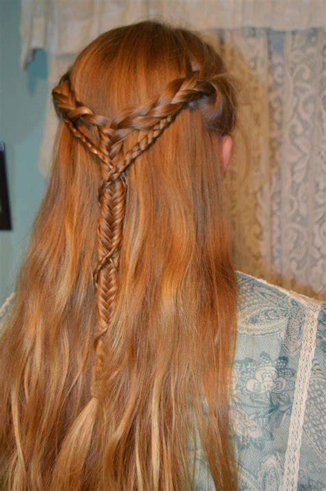whatsoever   lovely medieval braid wrapped braid