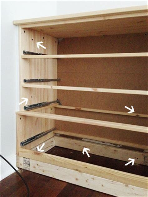 How To Build Closet Drawers by Turning Store Bought Dressers Into Bedroom Built Ins