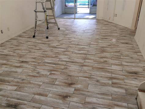 porcelain wood tile pros and cons new basement and tile
