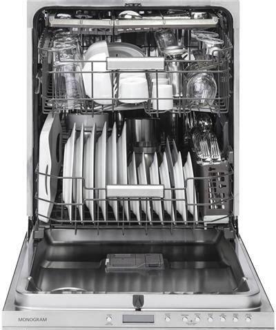 ge monogram zdtsijii   panel ready built  fully integrated dishwasher   place