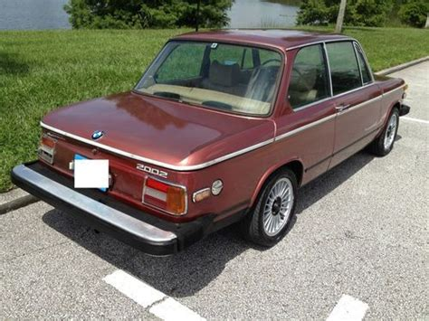 Sell Used 1975 Bmw 2002 Automatic With Air Conditioning A