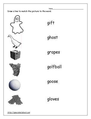 letter g worksheets esl teaching tools
