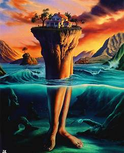 surreal painting by jim warren - 20