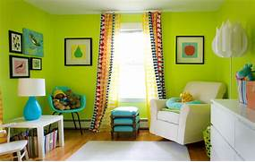 Photos Of Living Rooms With Green Walls by Modern Lime Green Living Room Wall Color Love This Idea Pinterest Gree