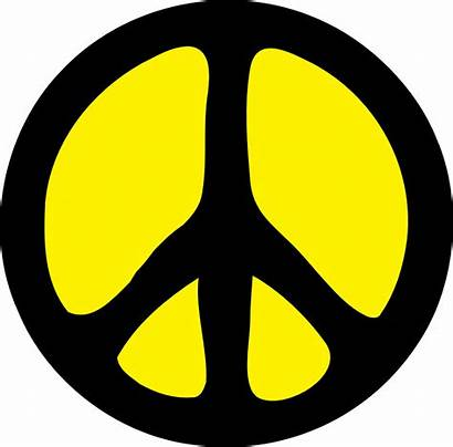 Peace Sign Clipart Clip Symbol Cliparts Graphics