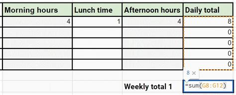 create  simple excel timesheet clockify