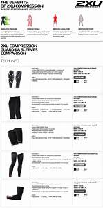 2xu Compression Size Chart Amazon Com 2xu Recovery Compression Arm Sleeve Sports