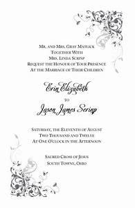 Catholic wedding invitation wording for Traditional catholic wedding invitation wording