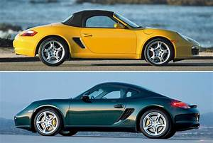 Model Guide  Type 987  U2014 Boxster Matures  Cayman Coupe